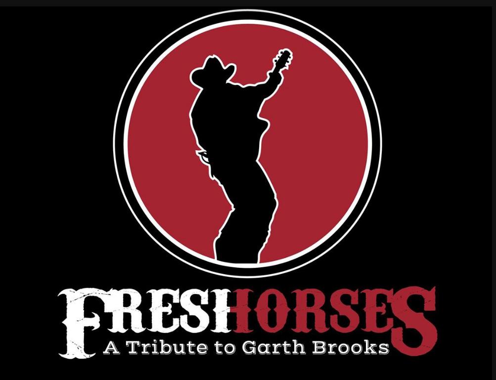 Garth Brooks Tribute Band Fresh Horses Logo